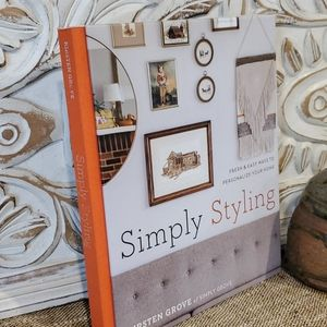 Coffee Table Book Simply Styling by Kristen Grove